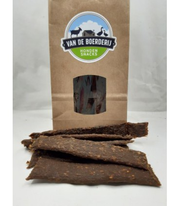 B - Vleesstrips FAZANT 100 gram