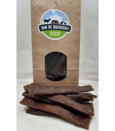 B - Vleesstrips Eend 100 gram